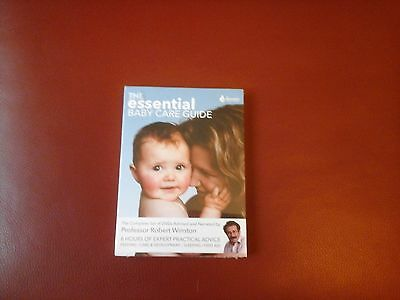 The Essential Baby Care Guide Complete Set Dvds By Robert Winston