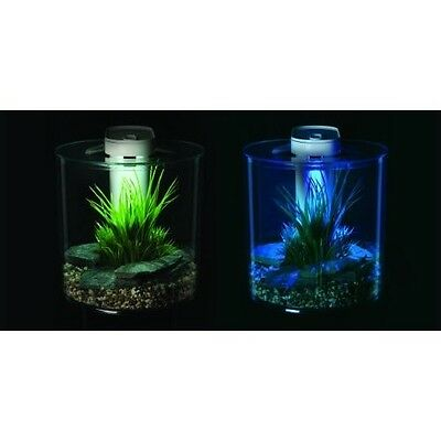 Marina 360 Aquarium 10l Tank Led Lighting Kit Fish And Decor Optional Tropical