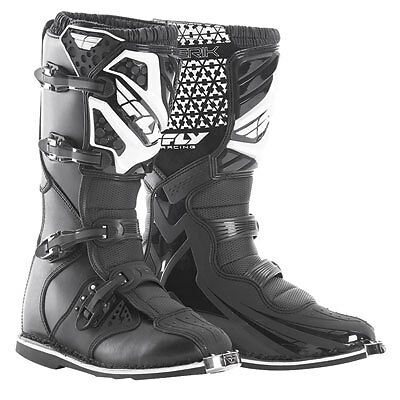 Fly Racing Maverik Motocross Boots Black New In Box