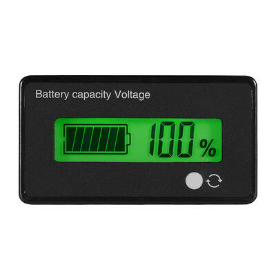 12V Waterproof Indicator Battery Capacity Tester Display Lead-acid Monitor TE620