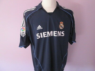 Maillot REAL MADRID Zidane Taille XL TBE Shirt football Espagne Spain ref20-