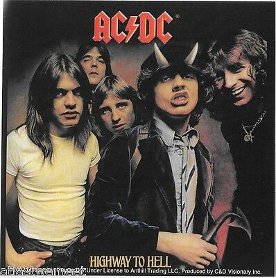 AC/DC Highway to Hell Vinyl Sticker Hard Rock Band Heavy Metal NEW