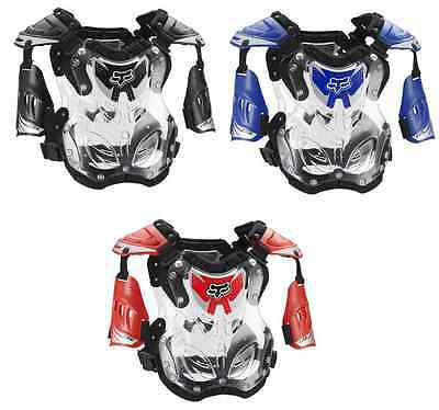 Fox Racing R3 Roost Guard Chest Protector Medium Motocross Off Road Adult Youth
