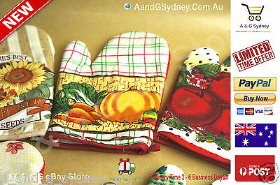 Pot holders & oven gloves oven glove - pot holder for kitchen cooking cook food