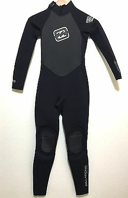 Billabong Childs Full Wetsuit Foil 3/2 Kids Youth Juniors Size 12
