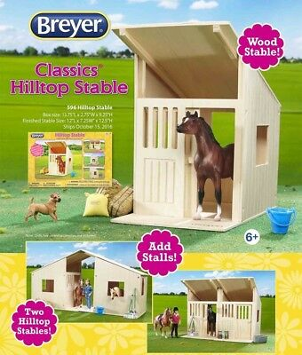 Breyer Classic Hilltop Stable, Mix and Match Build A Stable #596