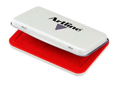 Artline Ehj-2 Stamp Pad No 0 Red