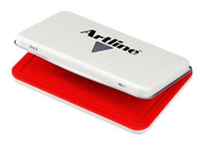 Artline Ehj-3 Stamp Pad No 1 Red