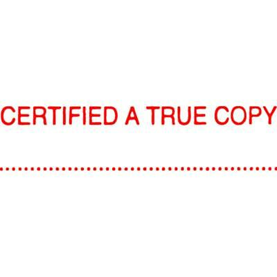X-Stamper 5015412 Cxb1 Certified True Copy Red