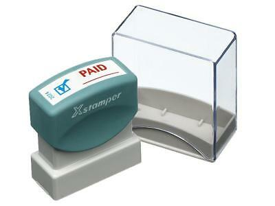 X-Stamper 5020240 Icon Paid Red/Blue