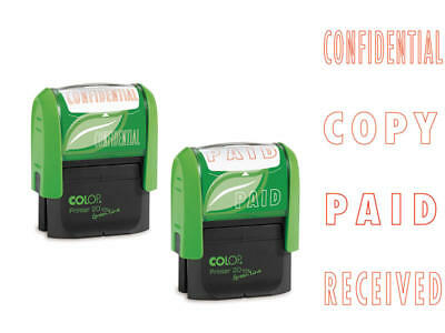 Colop Green 20 - Phrase Stamp Paid