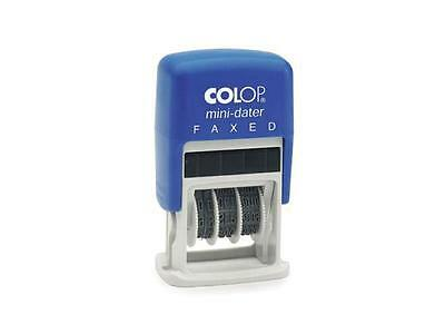 Colop 987138 Self Ink Mini Dater Stamp Faxed 4Mm