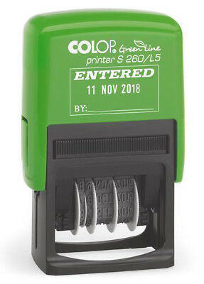 Colop S260/L5 Stamp Entered Dater