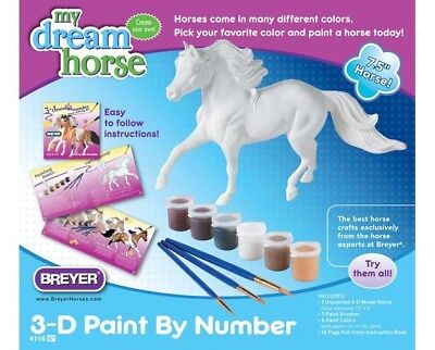 Breyer Paint Your Own Horse - Pinto  #4116