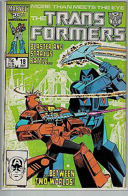 Transformers - 018 - Marvel - July 1986 - .75 cents