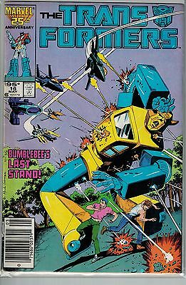 Transformers - 016 - Marvel - May 1986 - .95 cents