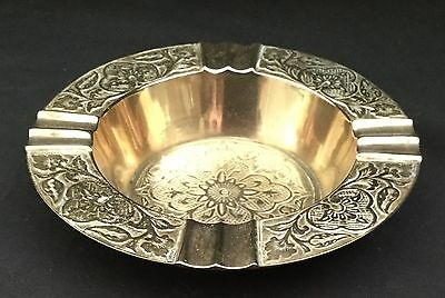 Vintage Brass Ashtray
