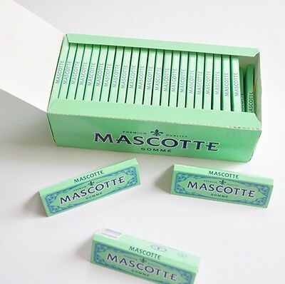 2 Box 50 Booklets Mascotte Cigarette Tobacco Rolling Papers 70*36mm 5000 Leaves