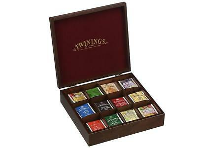 Twinings Tea Chest With 12 Compartments Including 12 Tea Varieties