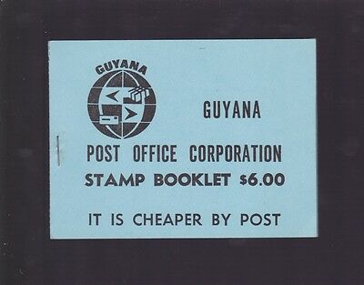 1981 Guyana AIR FISH $1 & 50 Stamp Set 2 blocks of 4 stamps  K-936