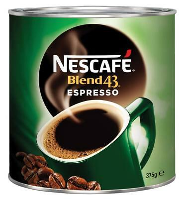 Nescafe Blend 43 Espresso Instant Coffee Tin 375g