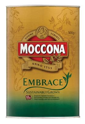 Moccona Embrace Sustainably Grown Instant Coffee 500g Tin