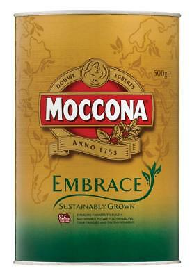 Moccona Embrace Sustainably Grown Instant Coffee Tin 500g