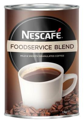 Nescafe Foodservice Blend Instant Coffee Tin 1kg