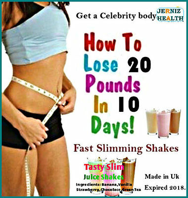 Lose Weight Fast Slimming Meal Replacement Juice Shakes plus-For Weight loss