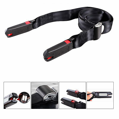 Adjustable Isofix Baby Child Car Seat Strap Holder Handy Safety Link Belt Anchor