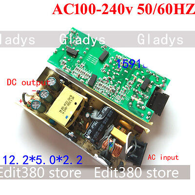AC/DC Inverter 110V 120V Converter to DC 12V 5A 60W Switching Power Adapter SMPS