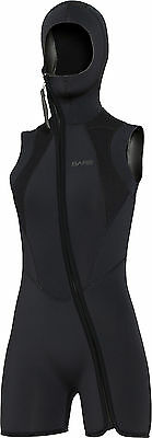 BARE - 7 mm S-Flex Step-In Hooded Vest - Eisweste - Frauen