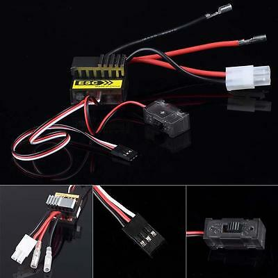 320A Brushed Speed Controller ESC f 1/8 1/10 RC Electric Car Truck Buggy Boat UA