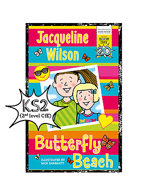 Butterfly Beach by Jacqueline Wilson (Paperback, 2017) World Book Day 2017