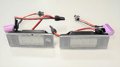 MERCEDES BENZ SPRINTER VITO VIANO NUMBER PLATE LED LAMP LIGHT SET 2 PIECES lg