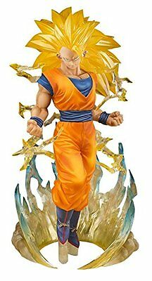 Bandai Dragon Ball Z Figuarts Zero Super Saiyan 3 Son Goku Action Figure Doll