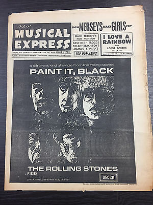 NME: New Musical Express, Feat The Rolling Stones, May 13, 1966