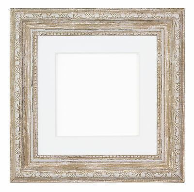 Instagram Square Ornate Shabby Chic Picture frame photo frame With Mount Walnut