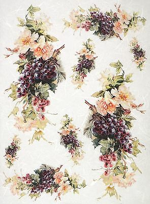 Rice Paper for Decoupage Decopatch Scrapbook Craft Sheet Vintage Numbers