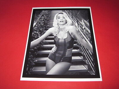 RITA ORA  10x8  inch lab-printed photo P/8876