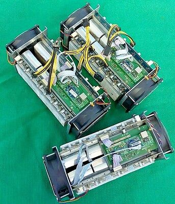 Antminer S3 Mining Lot of 3 Virtual Currency Bitcoin miner