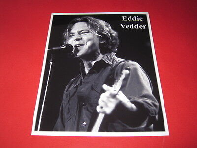 PEARL JAM EDDIE VEDDER  10x8  inch lab-printed photo P/8887