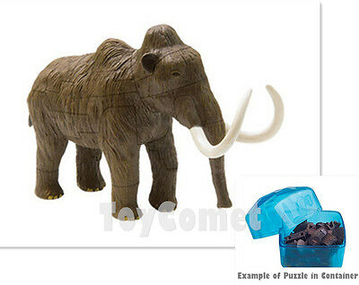Woolly Mammoth Ice Age Animal 4D 3D Puzzle Realistic Model Kit Toy