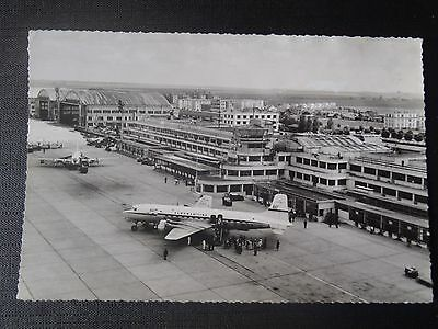 Photo Originale Des Annees 50 Paris Le Bourget Dc.6 A L'arrive Aeroport
