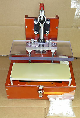PCB Test Fixture Jig, Bed of Nails Pogo Fixture, Linear Slide Toggle 003