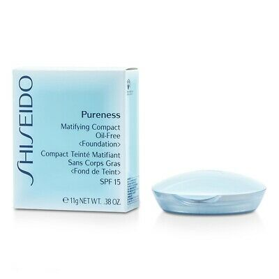 NEW Shiseido Pureness Matifying Compact Oil Free Foundation SPF15 (Case + 0.38oz