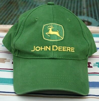 John Deere cap hat nothing runs like a deere