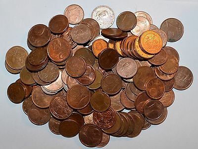 2 1 EUROS lot UNSEARCHED mixed countries world foreign European 30 COINS
