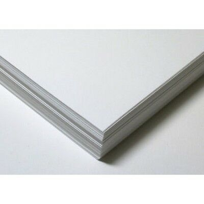 50 x A3 THICK WHITE PREMIUM QUALITY 300gsm CRAFT CARD PAPER
