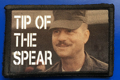 Bill Paxton Edge of Tomorrow Morale Patch Tactical Military Army Flag